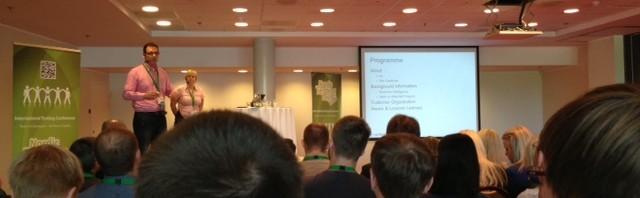 Presenting Testing BI at Nordic Testing Days, Tallinn - with Iris Groenewoudt
